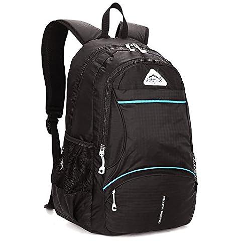Local Lion Unisex Daypack Backpack Rucksack Wanderrucksack Schulrucksack für Outdoor Sports Camping Uni Reise inklusive Laptopfach 18L Ultraleicht Wasserdicht, Gelb