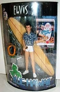 Elvis Presley Blue Hawaii figure with surfboard display