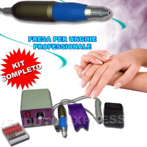 Torno profesional de uñas MM-25000, set con fresillas completo para manicura y pedicura 110220