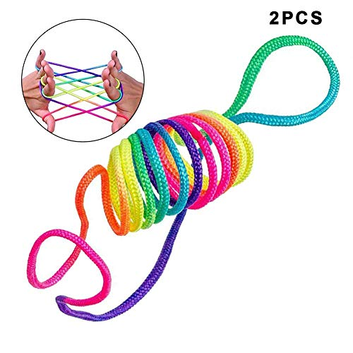 Heling896 Finger Twist String Game - Cuerda Juguete