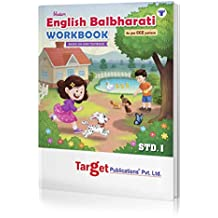 Blossom 1st Std English Balbharati Workbook for Primary Children | English Medium Maharashtra State Board | Based on Std 1 New Textbook | As per CCE Pattern | Chapterwise Textual Questions with Unitwise Tests
