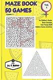Maze Book Game for Children?s Books: Maze Book 20 Games for Children's Books Basic Concepts Teen Young Adult Hobbies Games Activities