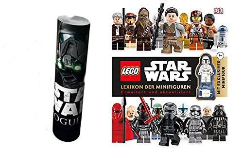 LEGO® Star WarsTM Lexikon der Minifiguren: Erweitert und aktualisiert mit exklusiver Minifigur + Star Wars Rouge One Poster