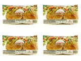 (4 PACK) - Newbury Phillips - Org Mini Wholemeal Pitta | 8pack | 4 PACK BUNDLE