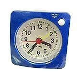 Homyl Mini Funk-Uhr mit Alarm - Blau