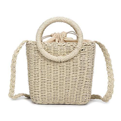 TOYIS handle Bag - Bolso de asas para mujer Blanco blanco talla única