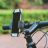 Universal Fahrrad Handyhalter / GPS Halterung / Smartphone Halter / Motorrad / Kinderwagen / für alle gängigen Smartphones ( wie iPhone 4s , 5 , 5s , 6 , 6s, 6s plus , 7 , 7 plus / Samsung Galaxy S4 , S5 , S6, S7 ) - 3