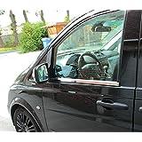 Molduras de acero inoxidable para ventanilla, Mercedes W639 Vito, Viano, 2003-2014