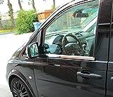 Mercedes W639 Vito Viano 2003-2014 Chrom Fensterleisten Zierleisten Edelstahl