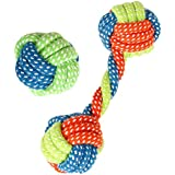 Dog Rope Toy Chew Teething Teeth Cleaning Toys Pet Playing Ball