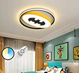 LED 38W Cartoon Kinderzimmer Lampe Fledermaus Spinne Deckenleuchte Dimmbare...
