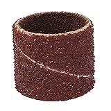 SLB Works 12mm Diameter 80 Grit Sanding Drums Abrasive Spiral Band Sleeves Rolls