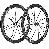 [VCYCLE nopea] 700C tubolare 50mm profondità ruote in carbonio 18/21 G3 tirare dritto rotelle della bici da corsa su strada 1375g - 130 Mm Mozzo Posteriore