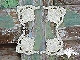 Shabby Chic Modanatura applique Ornate Set di 4grandi angoli perfetto per cornici per decorazioni di mobili e addobbi