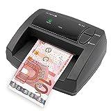 OLYMPIA NC 315 Automatisches Geldscheinprüfgerät – Updatebar – Euro-Noten – Optionaler Akku-Betrieb | Mobiler Geldscheinprüfer, Banknotenprüfer mit LED-Leuchten
