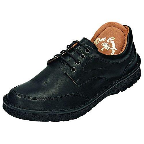 520329 DocComfort, chaussures basses homme Noir - schwarz Weite K