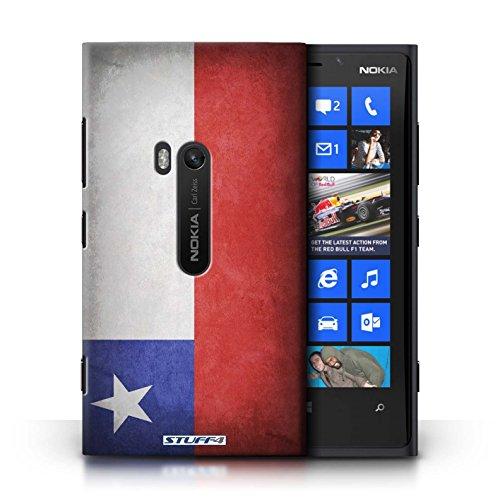 Coque en plastique pour Nokia Lumia 920 Collection Drapeau - Suisse Chili/Chiliean