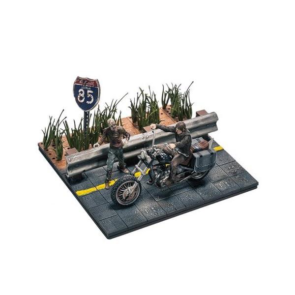 McFarlan Star Walking Dead Construcción Daryl con Chopper - Juegos de construcción 1