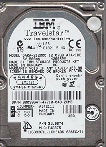 dara-212000-pn-31l9874-mlc-f42375-ibm-12gb-ide-25-disco-duro
