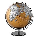 Globe Collection Mappamondo, Gold, 30 cm