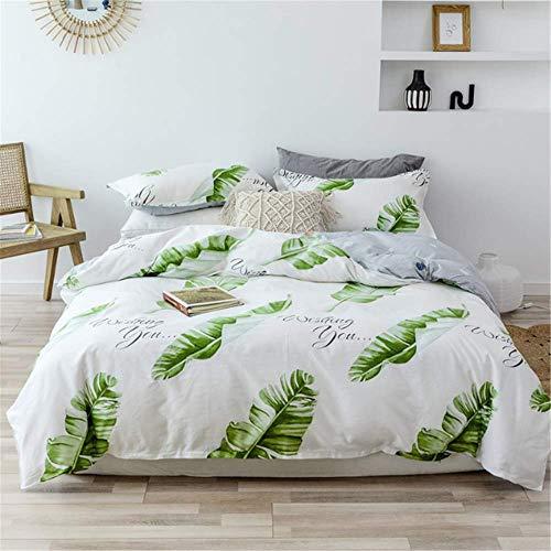 SHJIA Kinderbettbezug Set Bettbezug Erwachsene Kind und Kissenbezüge Tröster Bettwäsche Set H 180x220cm -