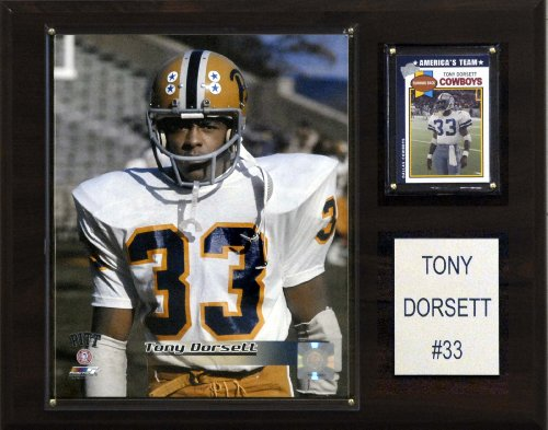 C & I Collectables NCAA Football Tony Dorsett Pittsburgh Panthers Player Plaque