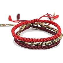 minorista online a92a1 0ccdf Amazon.es: pulsera budista