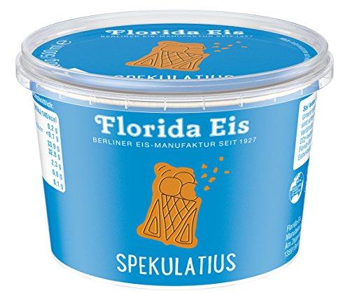 "Eiscreme ""Florida Eis"" Spekulatius – Familienpackung – 500ml"