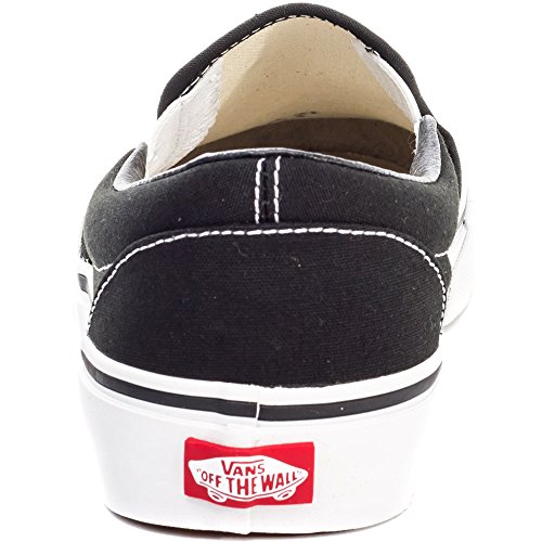 Vans U Classic Slip-On, Baskets Mode Mixte Adulte Noir (Black)