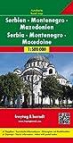 Freytag-Berndt Autokarten, Serbien - Montenegro - Mazedonien - Maßstab 1:500 000 (freytag & berndt Auto + Freizeitkarten) - Freytag-Berndt und Artaria KG