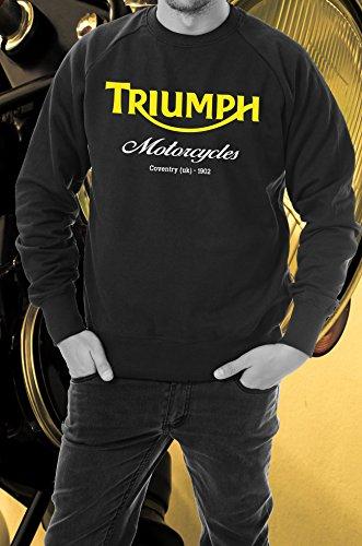 Felpa Triumph manica lunga girocollo Taglia XL