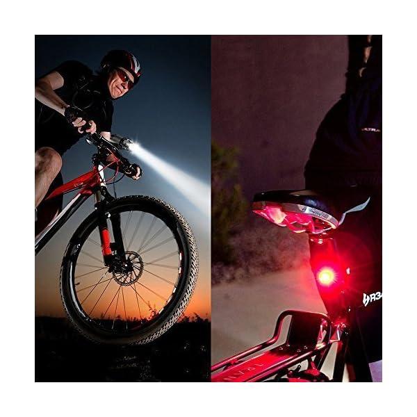 Very Bright Bike Lights Cycling Light