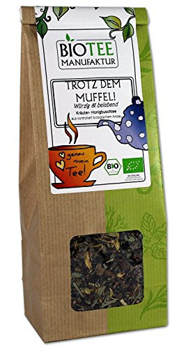 Trotz dem Muffel! - Bio, Wellness Tee, Honigbuschtee lose (1 x 80g)