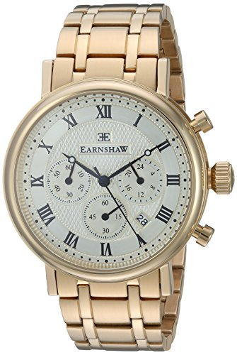 Thomas Earnshaw ES-8051-22 Montre bracelet homme Acier inoxydable