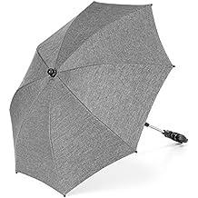 zamboo universal–Sombrilla para cochecito/Buggy (Protección UV 50+) Melange Grey