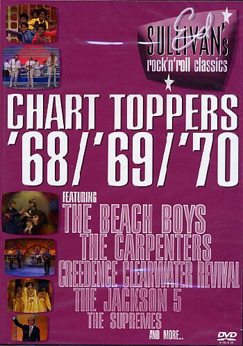 Various Artists - Ed Sullivan: Chart Toppers '68/'69/'70