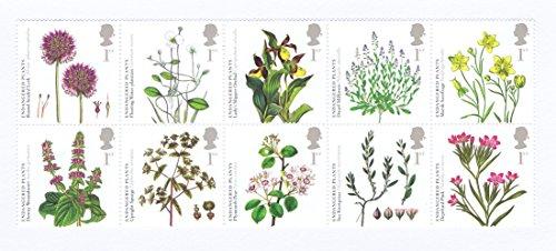 Royal Mail Stamps - 10 francobolli da