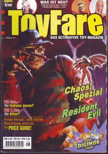 ToyFare - Ultimative Toy-Magazin - 1. Jahrgang - Nr. 1 6/00