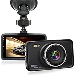 """GooDee FHD 1080P 3.0"""" Auto Kamera Auto DVR Dashcamera 120° Weitwinkelobjektiv mit Bewegungs Abfragungs WDR G-Sensor Nachtsicht Überwachung beim Parke und Loop-Zyklus Aufnahme"""