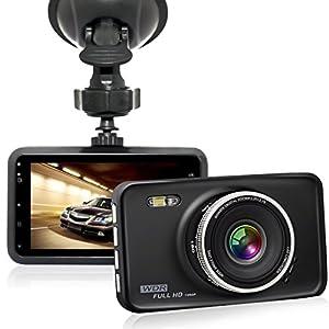 GooDee FHD 1080P 3.0″ Auto Kamera Auto DVR Dashcamera 120° Weitwinkelobjektiv mit Bewegungs Abfragungs WDR G-Sensor Nachtsicht Überwachung beim Parke und Loop-Zyklus Aufnahme
