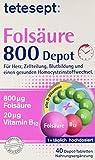 Tetesept Folsäure 800 Depot, 1*40 Tabletten