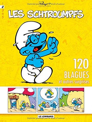 Schtroumpfs (120 Blagues) - tome 2 - 120 blagues et autres surprises T2