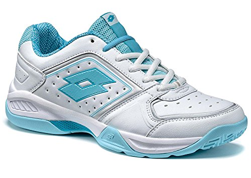 Lot T-tour Ix 600 W, Chaussures Sport Féminines Blanc / Bleu (wht / Blue Tah)