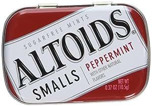 Altoids Bonbons à la menthe - Parfum de menthe poivrée - Petite taille (Lot de 9)