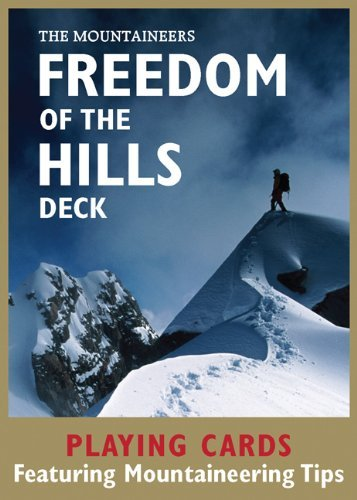 Freedom of the Hills Deck: 52 Playing Cards by Mountaineers (Editor) (1-Sep-2010) Cards
