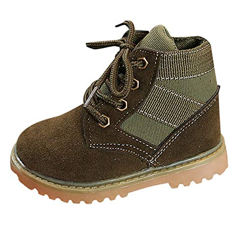 Cinnamou Baby Boots,Fashion Kids Baby Girls Boys British Style Martin Boots High Gang Snow Booties Winter Boots Shoes Sneaker