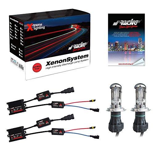 Simoni Racing C6H4 Kit Xenon H4 6000K Canbus Slim