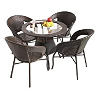 It is a purely made in India high quality product. Beware of similar looking low quality imported products in the market. We at FurniFuture India believes in quality products. Our Unique Balcony Dining Set is manufactured by high skilled designers; h...