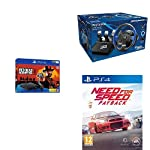 Sony PS4 Slim 1TB Console+Thrustmaster T150 Pro Racing Wheel for PS4+Need for Speed Payback (PS4)