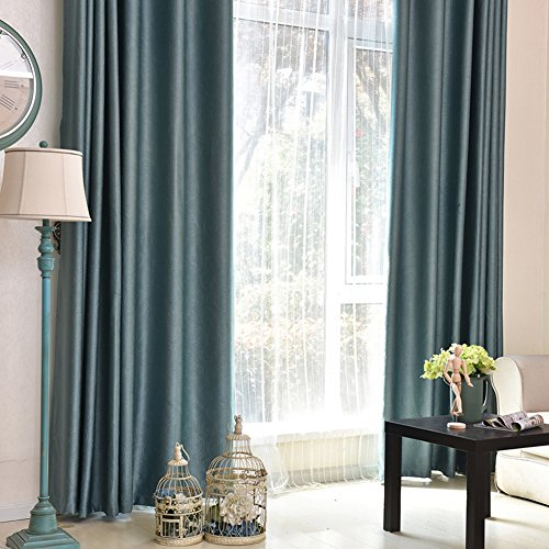 Moderne einfach Verdicken sie Total blackout Rollo Living room Schlafzimmer Wind vorhänge-A 150x270cm(59x106inch)